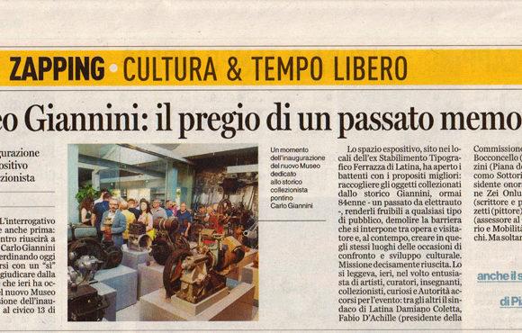 Museo Giannini: il pregio di un passato memorabile