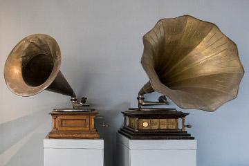 Telegrafi, radio, grammofoni, registratori e TV