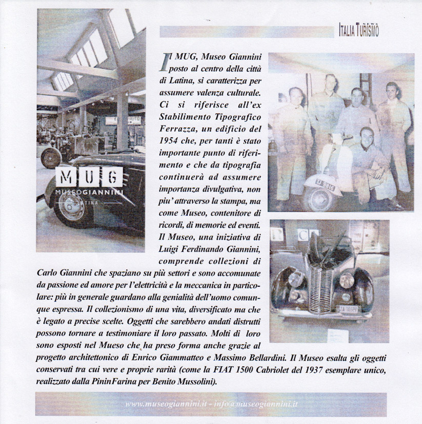 Il MUG – Museo Giannini