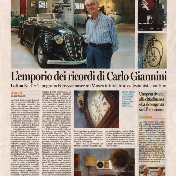 L'emporio dei ricordi di Carlo Giannini